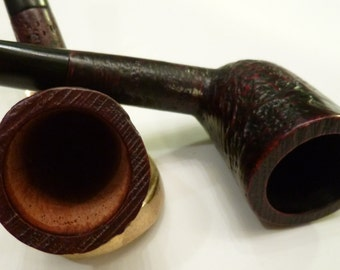 ManVsPipe New Unsmoked Dublin Cypriot Briar Tobacco Pipe Lot BOGO