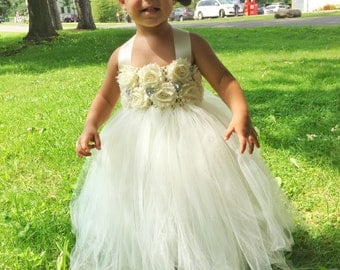 Tulle flower girl dress | Etsy - photo #23