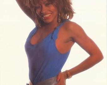 Tina Turner 1985 Rare Poster