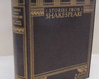 Vintage Book - Stories from Shakespeare - 1928