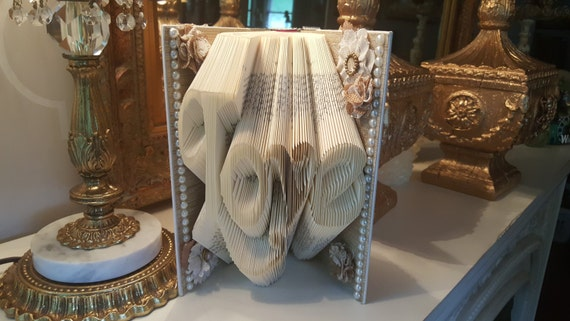 Book Art Wedding Gift : book art, Wedding gift, Engagement gift, Friend Gift, Daughter gift ...