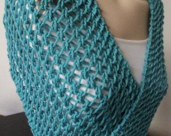Handmade Scarf Hand Knit Cowl  by IrinaKdesigns