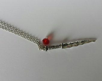 OUAT inspired Rumpelstiltskin necklace