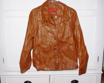 Leather jacket size 38-40