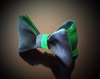 Teal & Emerald Bowtie