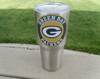 Green Bay Packers YETI RTIC Tumbler Decal Sticker FREE  Fast Shipping! Buy 2 Get 1 Free! Best Seller! Only Here!