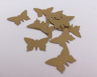 Gold Butterfly Table Confetti: Butterfly Theme Table Decor, Cinderella Theme Party