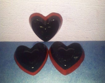 Bubble Gum Hearts