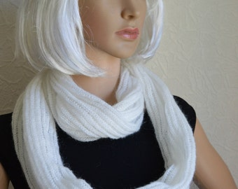 Handmade women's shawl - snood scarf