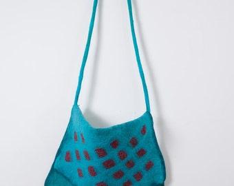 felt messenger bag