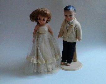 1958 Vogue Jeff and Ideal Little Miss Revlon Dolls Perfect for  Wedding or Anniversary Gift