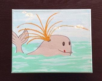 Glitter Whale