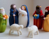 Nativity, wise men, two s...