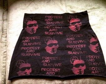 Discharge Punk Skirt