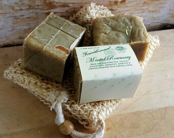Minted Rosemary Olive Oil Soap