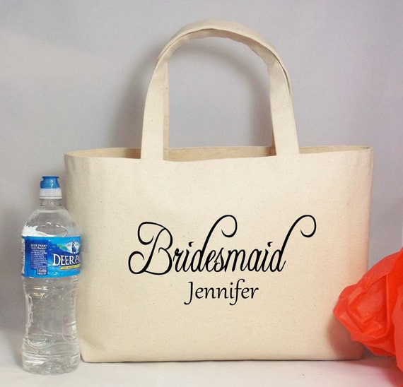 Personalised Wedding Gift Canvas : Gift Canvas Beach Tote with Name, Rustic Wedding, Beach Wedding ...