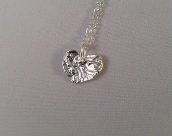 Reticulated Heart Necklace