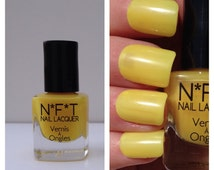 N86 Electric Yellow Neon Nail Polish / Indie Lacquer