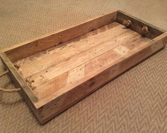Rustic mirror made from reclaimed pallet wood - Shallow shower tray ...