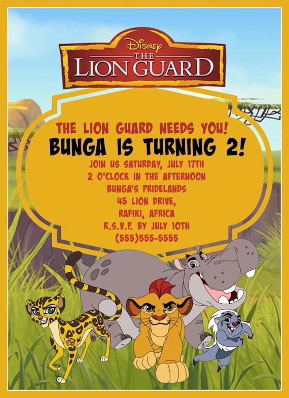 Lion King Invitation for good invitations ideas
