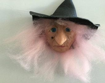 Magnet kitchen witch