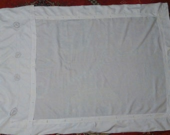 Vintage Hand Embroidered Hungarian Single Duvet Cover from the 30s