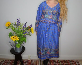 Blue Maxi Dress Size Large