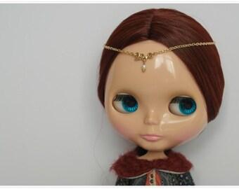 Handmade Blythe Hair Chain/Head Piece