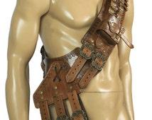 leather Bandolier unisex,