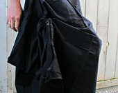 New Black Wrap Skirts SK003a
