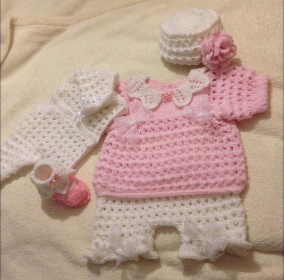 Loopy Knitting Pattern : Baby Knitting pattern Loopy full set size by AdorableLittleBaby