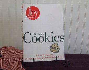 Joy of Cooking Christmas Cookies, Vintage Cookbook, 1996