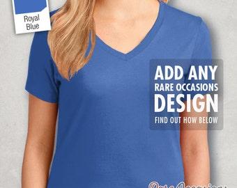 Women's Regular Sized V-Neck Tshirt