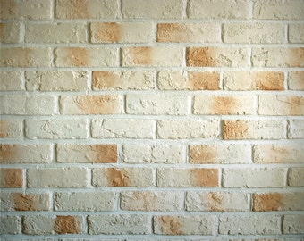 FREE EXPEDITED SHIPPING And Insurance ! New Item 5 ft x 5ft Vintage Brick Vinyl Backdrop / Custom Photo Prop, 031