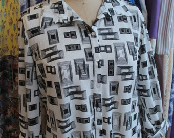 Amarante button through blouse REF 290