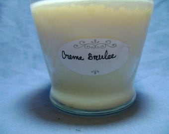 16 oz Cream Brulee soy candle, 2 wick