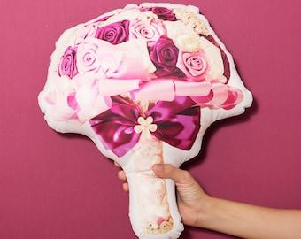 FunPrint Jewelry Bouquet Pillow Wedding Deco