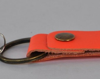 Leather Keychain , Key Fob,  leather key holder, Keychain leather key fob ,Genuine leather key ring ,Holiday gifts