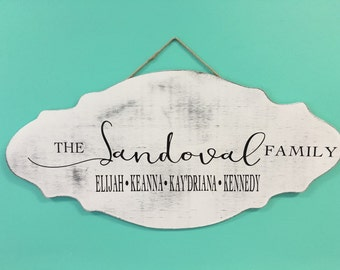 Family Name Wall Hanging