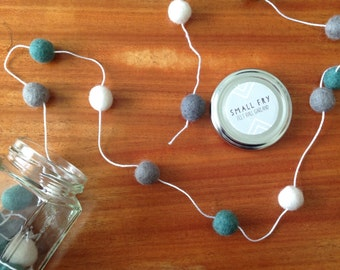 Felt Ball Garlands