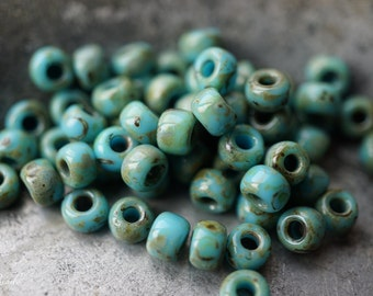 Picasso Blue, Seed Beads, N13