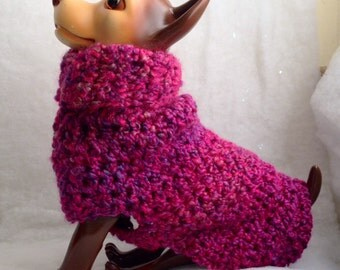 Pink Confection, Knit Dog Sweater, small dog sweater, dog sweaters, dog sweater, knitted dog sweaters, pink dog sweater, pink dog coat