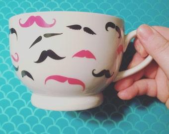 Mini Mustaches Mug
