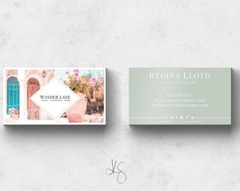 Business Card Template. Photoshop Template. PSD Template. Business Cards. Business Logo. Custom Business Card Design. Graphic Design.