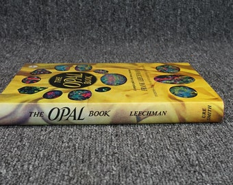 The Opal Book A Complete Guide To The Famous Gemstone By Frank Leechman C.1978
