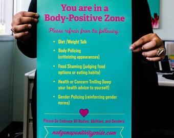 SALE!!! 18x24 Body Love Poster.