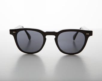 James Dean Style Vintage Horn Rim Sunglasses - Benson 1