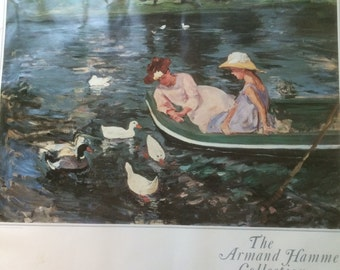 Summertime 1894 by Mary Cassatt Lithograph Vintage