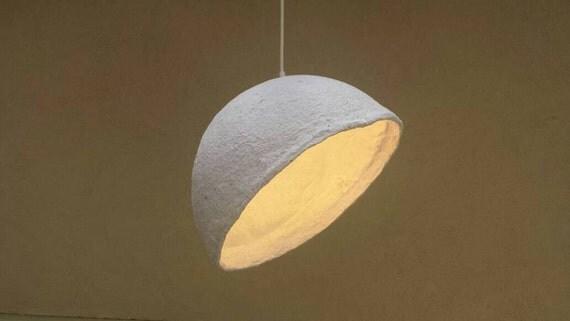 Paper Mache Lamps Pendant Lampshade Papier Mache Pendant