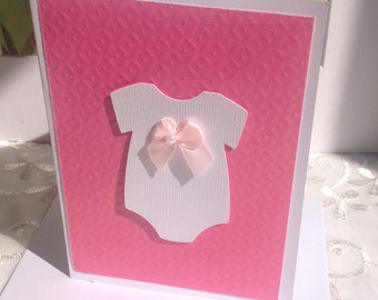 Baby Shower Thank You Cards, Baby Thank you cards, White Thank you cards, Thank you Notes, Onesie  thank you card sets.